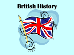 British history - World of Teaching
