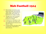 Mob Football 1314 - Broughton Hall High School