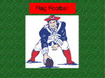 Flag Football study guide