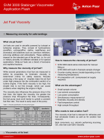 Viscosity of Jet Fuels - Anton