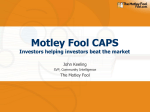 Motley Fool CAPS_ Investors Helping Investors Beat the Market
