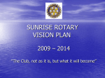 Our Vision Plan - Redding Sunrise Rotary
