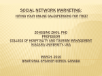 Internet Marketing - Niagara University Alumni