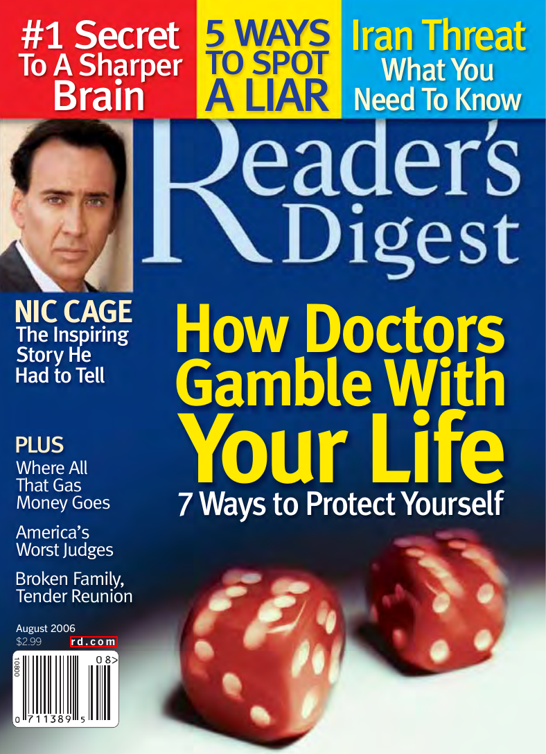 Readers Digest (August) Issue 8(2006).pdf