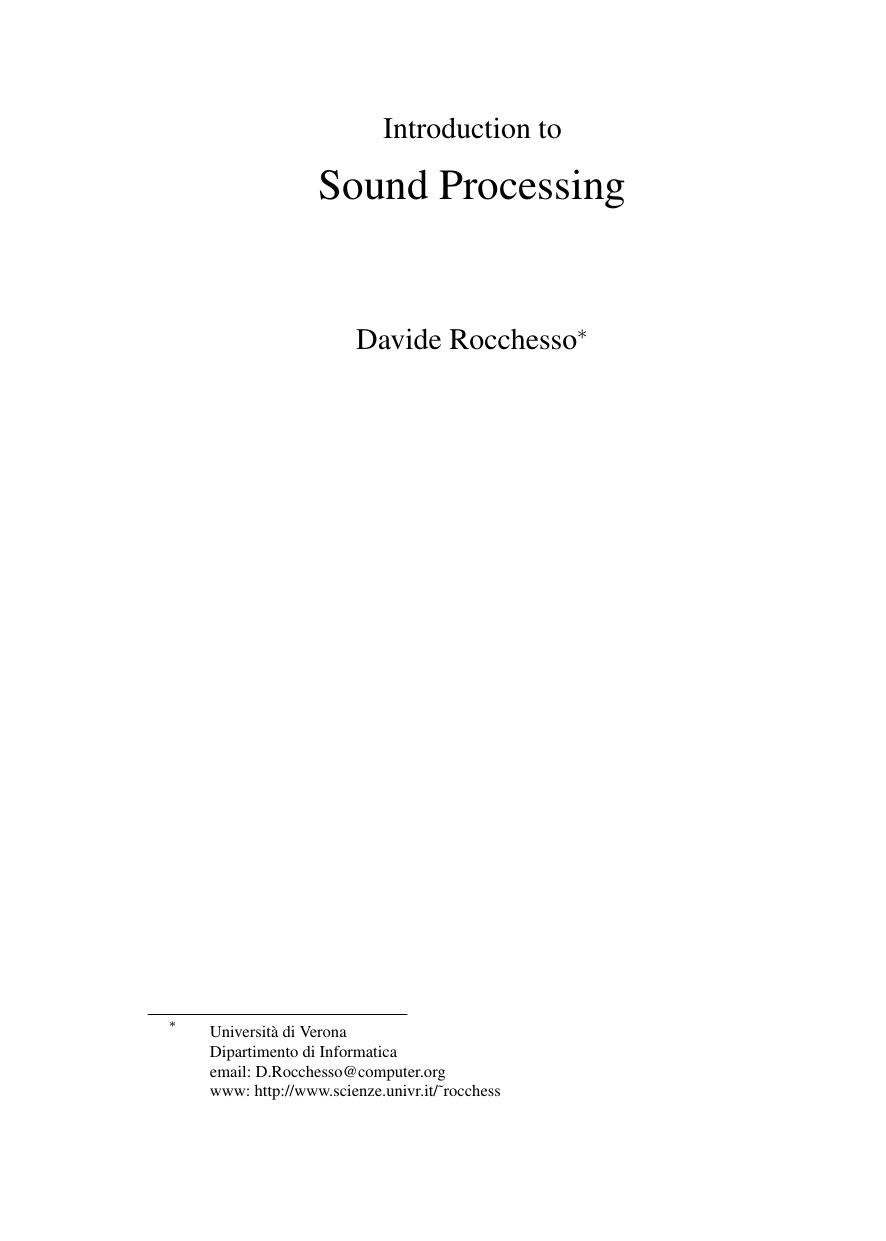 Rocchesso D. - Introduction to Sound Processing (2003).pdf