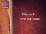9. Power and Politics