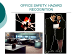 OFFICE SAFETY: HAZARD RECOGNITION