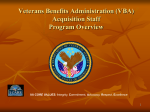 VBA Acquisition Staff - US Department of Veterans Affairs