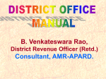 District Office Manual.