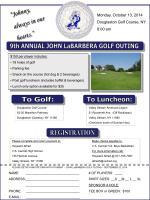 LaBarbera golf outing - American Federation of Umpires(AFU)