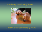 Jewish Social Welfare Commission Warsaw, Poland