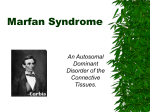 Marfan Syndrome - CISAT Sharepoint