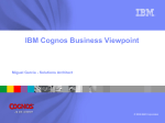 IBM Cognos Business Viewpoint