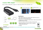 MHL adpter(Micro USB to HDMI)