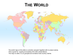 World Map (Editable)