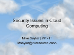 "Cloud Computing,"" presented"
