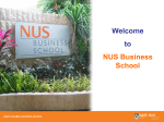 NUS Business School corporate presentation