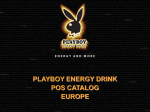 Playboy Energy Drink - Asiandragonintl.com