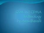 Differences between GSM and CDMA Technology