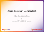 Asian Paints in Bangladesh - High Commission of India, Bangladesh