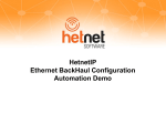 Screen Tour - Hetnet Software