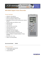 WS-650S Digital Voice Recorder
