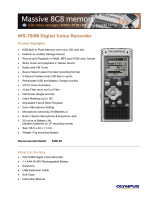 WS-760M Digital Voice Recorder