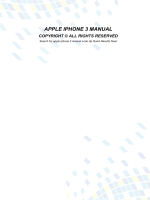 APPLE IPHONE 3 MANUAL