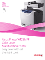 Xerox Phaser 6128MFP Color Laser Multifunction Printer Easy color...