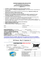 2015 Reservation Application - Lewis County Public Utility District