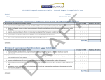 2014-‐2015 Proposal Assessment Rubric – National Magnet