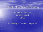 Catalina 1st Meeting 2015 - Estrella Mountain Elementary School