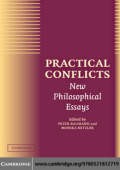 Peter Baumann Monika Betzler - Practical Conflicts- New Philosophical Essays (2004)