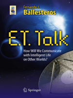 Fernando J. Ballesteros - E.T. Talk- How Will We Communicate with Intelligent Life on Other Worlds- (Astronomers Universe) (2010)