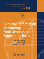 Fernando Sanso- - Geodetic Deformation Monitoring- From Geophysical to Engineering Roles (International Association of Geodesy Symposia) (2006)