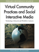 [Premier Reference Source] Demosthenes Akoumianakis - Virtual Community Practices and Social Interactive Media- Technology Lifecycle and Workflow Analysis (Premier Reference So