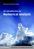 9005.Endre Süli  David F. Mayers - An Introduction to Numerical Analysis (2003  Cambridge University Press).pdf