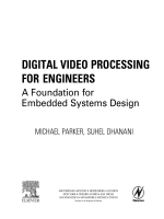 2287.Digital Video Processing for Engineers. A Foundation for Embedded Systems Design