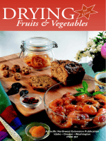 Drying - Fruits & Vegetables