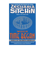 Zecharia Sitchin - When Time Began The 5h Book of the Earth Chronicles (1993) (eng)