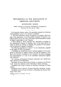 Proceedings of the Association of American Anatomists. Seventeenth session. Wistar Institute of Anatomy  Philadelphia  Pennsylvania  December 29  30 and 31  1903