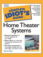 Michael Miller - The Complete Idiots Guide to Home Theater Systems (2000  Alpha)