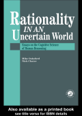 Mike Oaksford  Nick Chater - Rationality In An Uncertain World- Essays In The Cognitive Science Of Human Understanding (1998  Psychology Press)