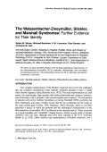 The Weissenbacher-Zweym├╝ller  Stickler  and Marshall syndromes Further evidence for their identity.