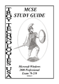 Troy Technologies USA Study Guide- Microsoft Windows 2000 Professional Exam 70-210 (2000).pdf