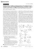 Substituent-Free Gallium by Hydrogenolysis of Coordinated GaCp.200805605.pdf  Synthesis and Structure of Highly Fluxional [Ru2(Ga)(GaCp)7(H)3]