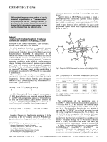 Reduced Cobalt-meso-Tetraphenylporphyrin Complexes  Synthesis and Structure of [Na(thf)3]2[Co(TPP)].