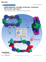 Multicomponent Assembly of Boronic Acid Based Macrocycles and Cages.