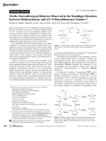 On the Stereodivergent Behavior Observed in the Staudinger Reaction between Methoxyketene and (E)-N-Benzylidenearyl Amines.