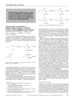Stereocontrolled Total Synthesis of (5S 6R)-  (5S 6S)-  (5R 6R)-  and (5R 6S)(7E 9E 11Z 14Z)-5 6-Dihydroxy-7 9 11 14-icosatetraenoic Acid (5 6-DiHETE) Methyl Esters.